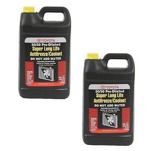 2 gallons Oes Fits Toyota Engine Coolant antifreeze Long Life New