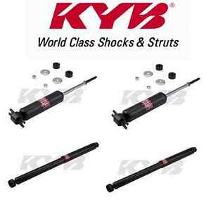 Set Of 4 Kyb Excel g Shocks 2 front 2 rear For Chevy Corvette New