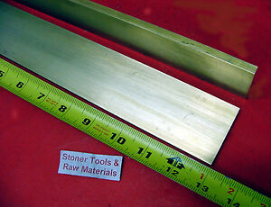 2 Pieces 1 4 X 1 1 2 C360 Brass Flat Bar 13 Long Solid 250 Mill Stock H02