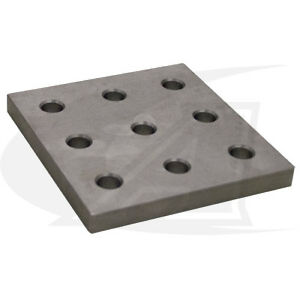 Buildpro 9 hole Fixturing Plate