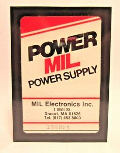 I5b25 5pin Mil Electronic Inc Power Supply Military