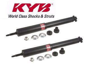 For Ford Mustang 2005 2015 Set Of 2 Rear Shock Absorbers Kyb Excel g 349026