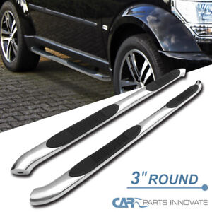 07 12 Dodge Nitro 3 Polished Stainless Steel Side Step Nerf Bars Running Boards