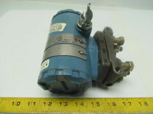 Rosemount 2024 D2a12as1e5 Differential Pressure Transmitter 12 36vdc 4 20madc