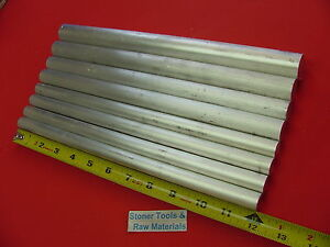 8 Piece 5 8 3 4 7 8 1 Aluminum Round Rod Assortment 6061 Bar Stock 4 12
