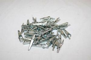 Mueller Lot Of 50 70s Alligator Clips W Screw Steel 5 amp Made In Usa