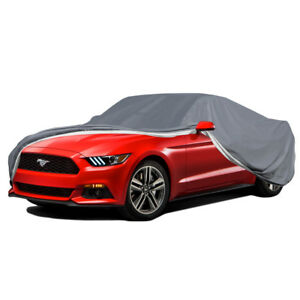 5 layers Car Cover Outdoor Seamless Waterproof Snow Dust Dirt For Mercedes benz