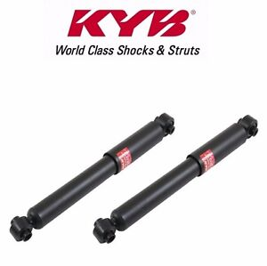 For Saturn Ion 2004 2007 Set Of 2 Rear Shock Absorbers Kyb Excel g 343308