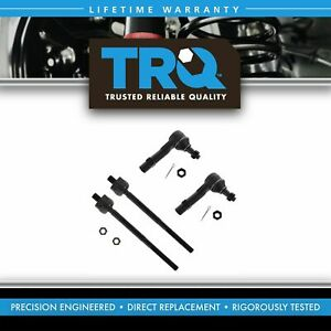 Tie Rod Front Inner Outer Lh Left Rh Right Kit Set Of 4 For Ford Mazda Mercury