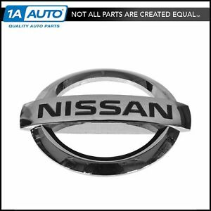 Oem 62890 7s000 Chrome Grille Emblem Nameplate For Nissan