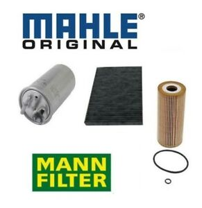 For Vw 1 9l Turbocharged Set 3 Oem Filters Fuel Air Charcoal Cabin Filter Kit