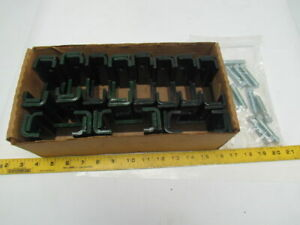 Unistrut P2403s Green Unistrut Clamp Lot Of 11 With Bolts