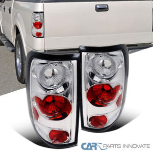 Ford 04 08 F150 F 150 Styleside Pickup Tail Lights Brake Stop Rear Lamps Chrome