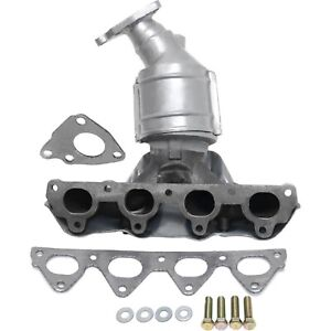 New Catalytic Converter With Exhaust Manifold For 1996 2000 Honda Civic Front