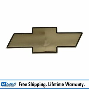 Oem 15634687 Bowtie Emblem Gold Grille Mounted For Chevy Blazer S10 Pickup