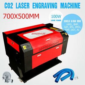 100w Co2 Laser Engraving Cutting Machine Engraver Cutter Usb Port Ce Fda