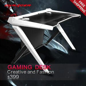 Dxracer Office Desk Gaming Desk Comfortable Table Computer Desks Gd1000 nw
