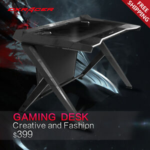 Dxracer Office Desk Gaming Desk Comfortable Table Computer Desks Gd1000n