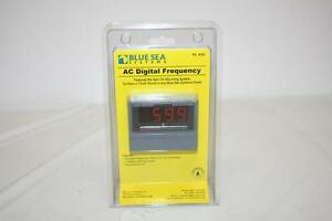 Blue Sea Systems 8239 Ac Digital Frequency Meter New