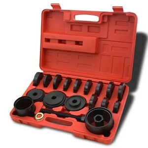 19 Pc Auto Jumbo Bearing Race Seal Driver Tool Master Set Wheel Axle W Case