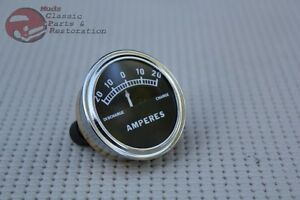 Model A Instrument Panel Amp Meter Guage Dial 20 0 20 Hotrod Custom Car Truck
