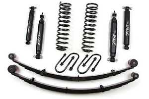 New Zone Offroad J21n 3 84 01 Jeep Cherokee Xj 4wd Lift Kit 8 25 Chrysler Axle