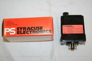 Ps Syracuse Time Delay Relay Programmable 115vac 10 Amps Rpcd 303 Nos