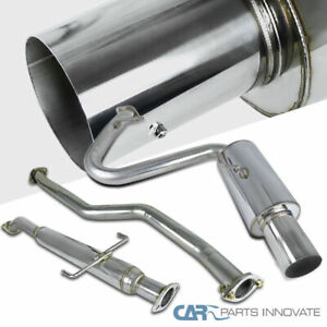 05 10 Scion Tc Chrome Polished Stainless Steel Catback Exhaust Muffler System