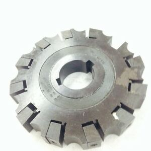 6 Slot Master Arbor Type 1 1 2 Hole Sm61215 Milling Cutter Machine Tool