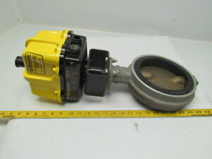 Worcester 20 m 75 x Electric Actuator W demco 6 Wafer buttefly Valve Ne i Ser