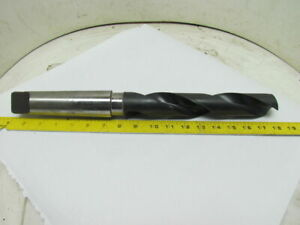Itw Illinois 1 19 32 Morse Taper No 5mt Shank Drill Bit 17 1 4 Oal 068