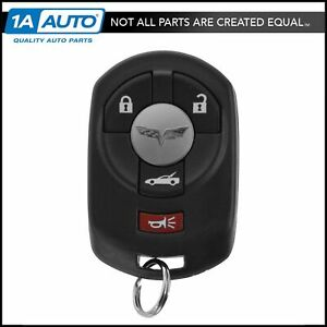 Oem 10372541 Keyless Entry Remote Transmitter Fob Number 2 For Chevy Corvette C6