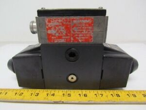 Vickers 02 119493 Dg454lw 012 C B 60 Hydraulic Directional Control Valve