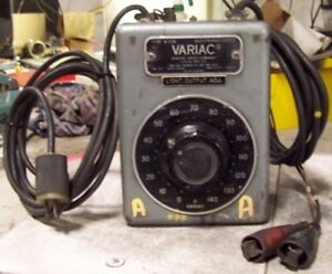 General Radio Company W10m Variac Transformer 120 Vac 10 Amps