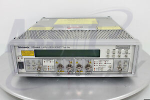 Tektronix St2400a Sdh sonet Opt 01 017 Test Set