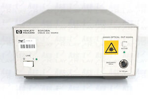 Agilent Hp 83438a Erbium Ase Source Opt 20 And H91 Edfa Reference