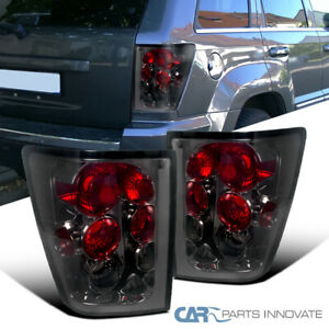 Jeep 05 06 Grand Cherokee Smoke Lens Tail Lights Tinted Brake Rear Parking Lamps