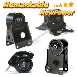 New Transmission Engine Motor Mount Kit 4 For 95 03 Nissan Maxima Infiniti I30