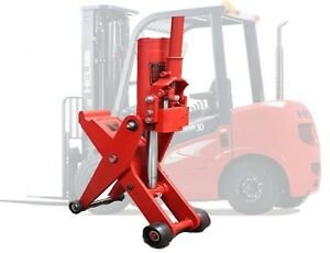 5 Ton Hydraulic Forklift Jack Dual Position Truck Tractor Scissor Lift Jack