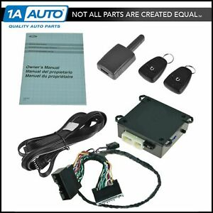 Oem Ds7z19g364a Long Range Remote Starter W Factory Install Kit For Ford Fusion