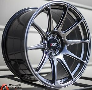 18x8 75 Xxr 527 Wheels 5x100 114 3 Chromium Rims Et35mm Fits Acura Tl 2004 2008