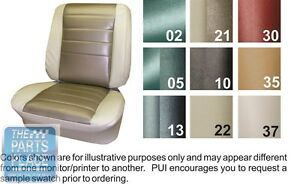 1965 Chevelle Fawn Front Buckets Seat Covers Pui