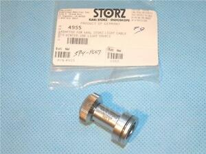 Storz Light Guide Adapter To Winter ibe Light Source Ref 495s