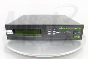 Burleigh Refurbished Wa 1650 Wavelength Meter With New Hene Laser Wavemeter