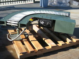 Muller Martini 90 Degree Right Angle Powered Conveyor
