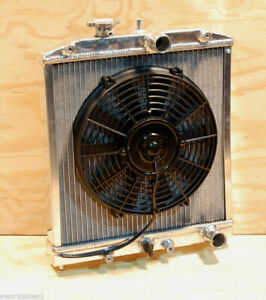 92 00 Honda Civic Integra Eg Si Aluminum Racing Radiator Fan 94 01 Del Sol