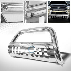 Fits 03 09 Toyota 4runner lexus Gx470 Chrome Bull Bar Brush Bumper Grille Guard