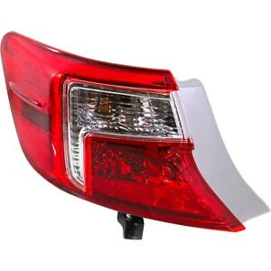 Tail Light For 2012 2014 Toyota Camry Lh