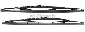 For Mercedes W126 22 Pair Set Front Left Right Windshield Wiper Blades Bosch