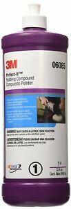 3m 06085 Perfect it Scratch Removing Rubbing Compound 1 Quart